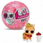 Кукла ЛОЛ Питомцы 4 серия Decoder Шпионы LOL Pets Surprise MGA Entertainment