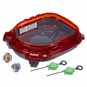 Арена для сражений бейблэйд 4 сезон СлингШОК Turbo Slingshock Rail Rush Battle Set BEYBLADE HASBRO